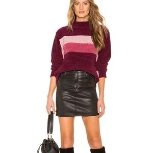 Lovers + Friends Revolve Chenile Sweater Small